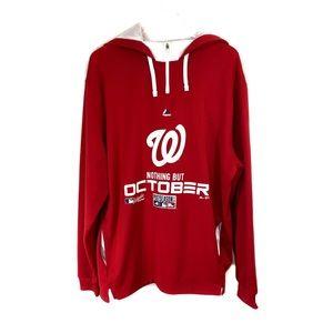 Washington Nationals Adult XL Hooded Sweatshirt
